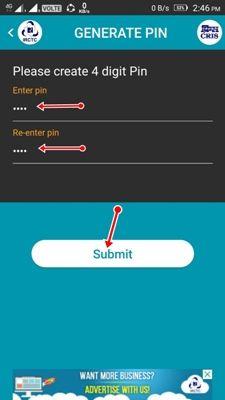 irctc generate pin