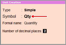 unit creation symbol