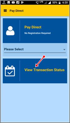 view transaction