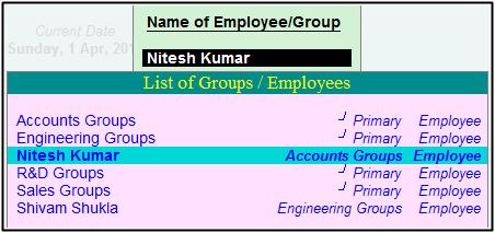 Nitesh Kumar Salary Define