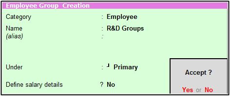 R&D Groups