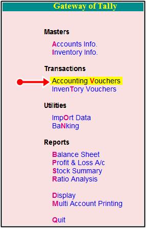 accounting voucher