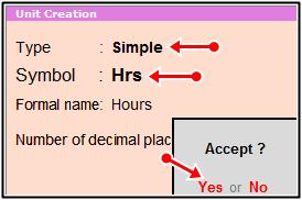 hours unit create