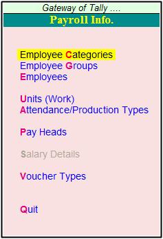 payroll info details