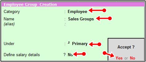 sales groups
