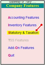 statutory & Taxaxtion