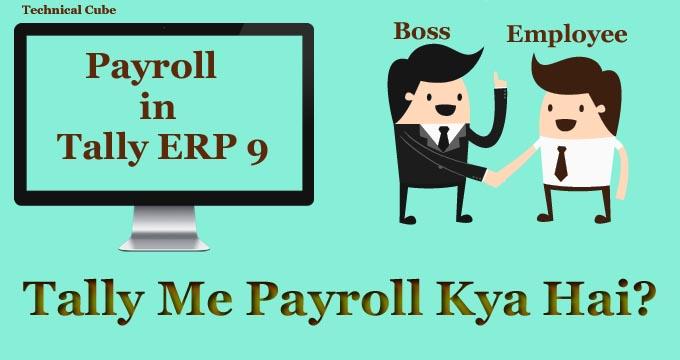टैली में Payroll क्या है? पूरी जानकारी हिंदी मे।