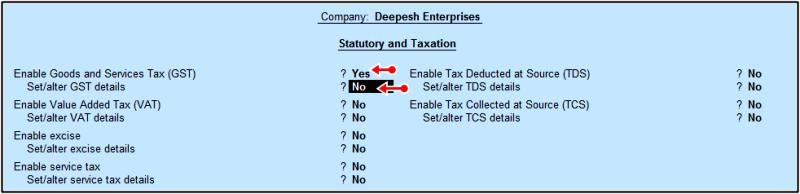 taxation details