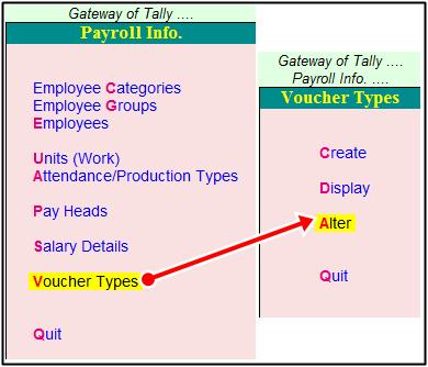 voucher types alter process