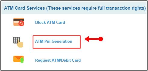 atm pin generation