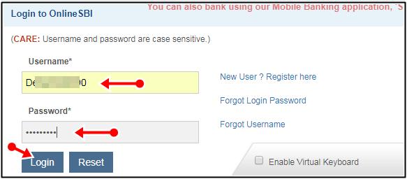 login user id