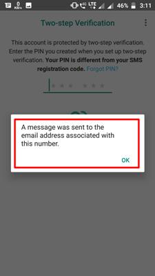 send email detailsa