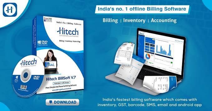 hi tech gst billing software