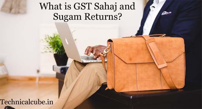 GST Sahaj return kya hai