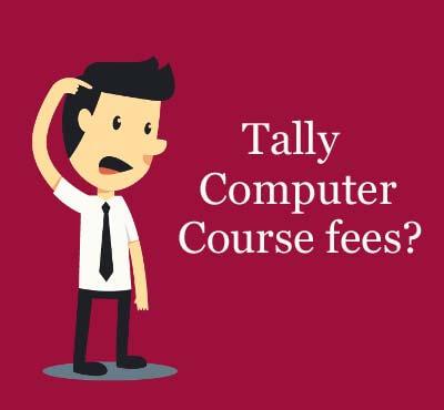 Tally computer course fees