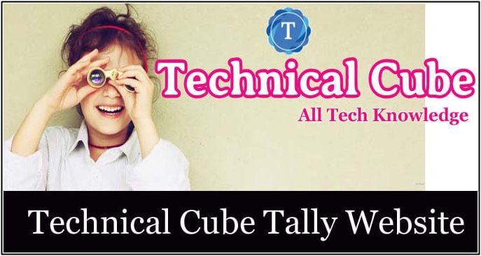 technical cube tally