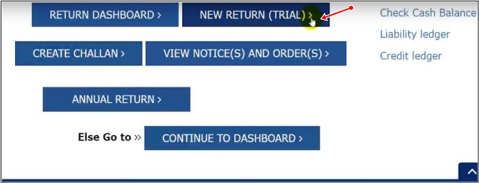 New gsr return trial