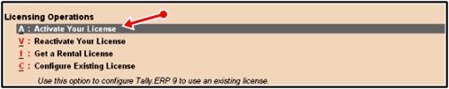 active license