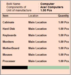 computers bom