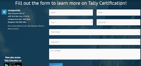 query tally