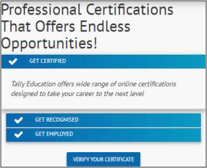 verify the certificates