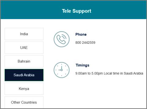 Tally Saudi Arabia Customer care No