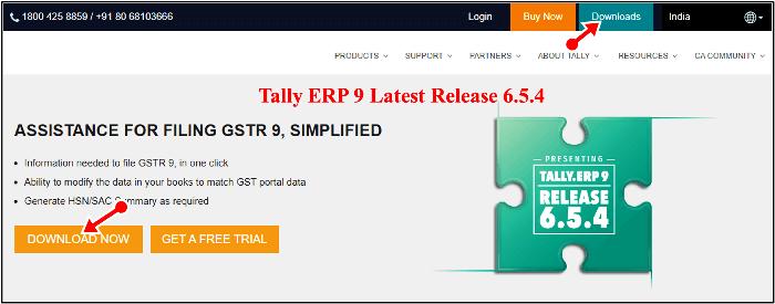 tally erp latest version