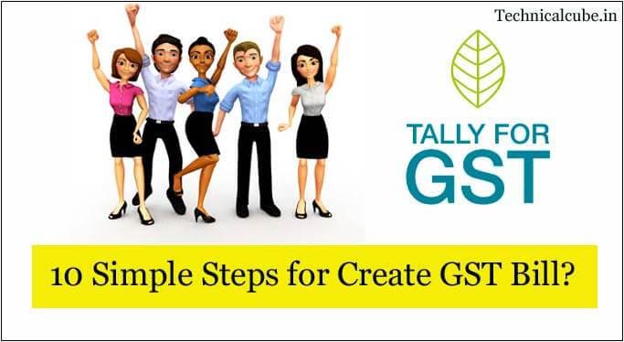 Create GST Bill