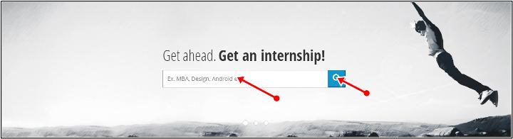 search internships