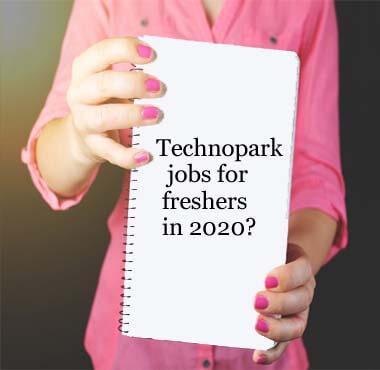 Technopark jobs for freshers