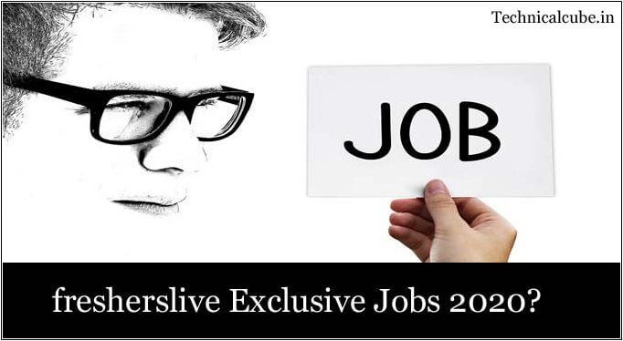 fresherslive jobs