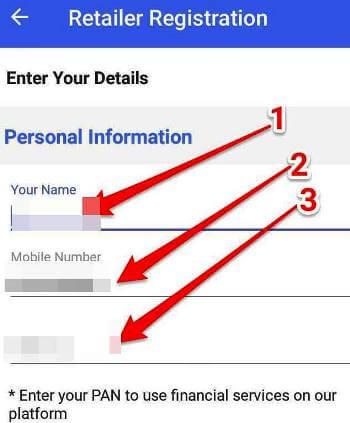 registration details retailers