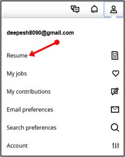 resume upload