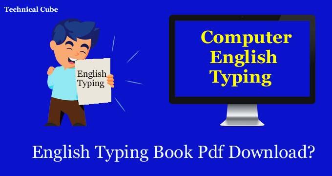 Computer English Typing Book Pdf Download