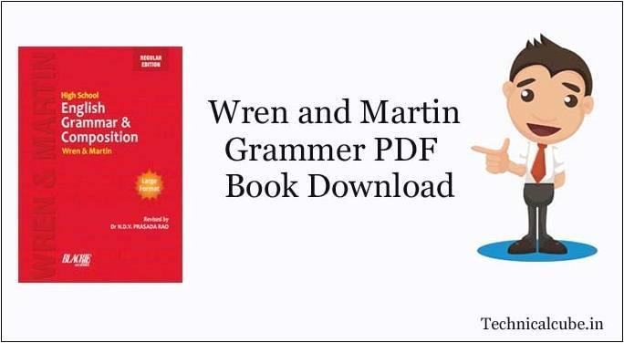 (Wren and Martin) PDF Book Download