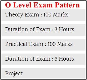 o level patterns