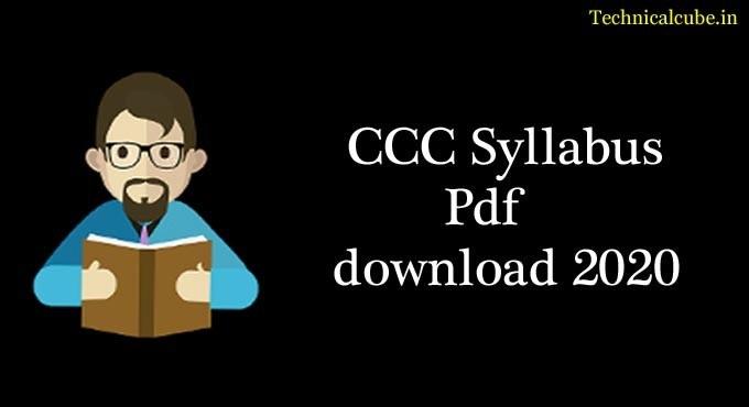 CCC Syllabus in Hindi Pdf download