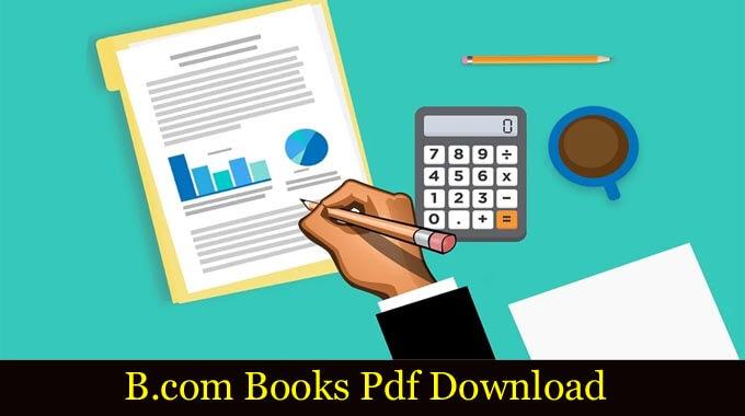 B.com Books Pdf Download