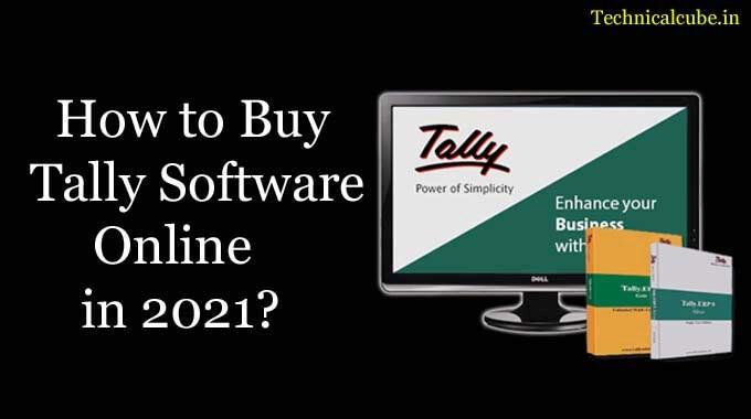 Buy Tally Software