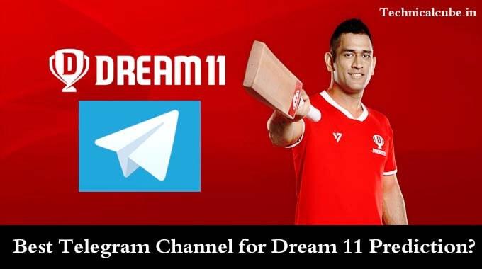 Best Telegram Channel for Dream 11 Prediction