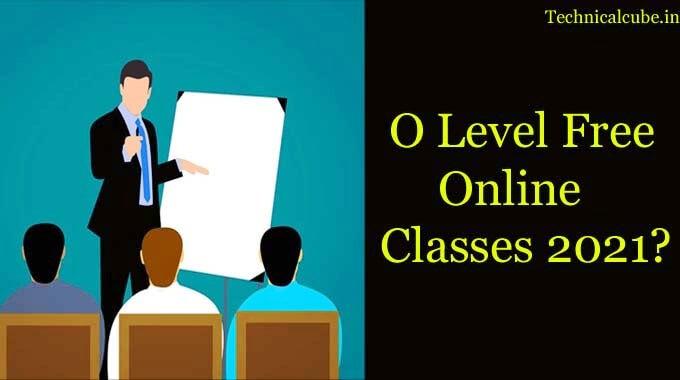 O Level Computer Course 2021