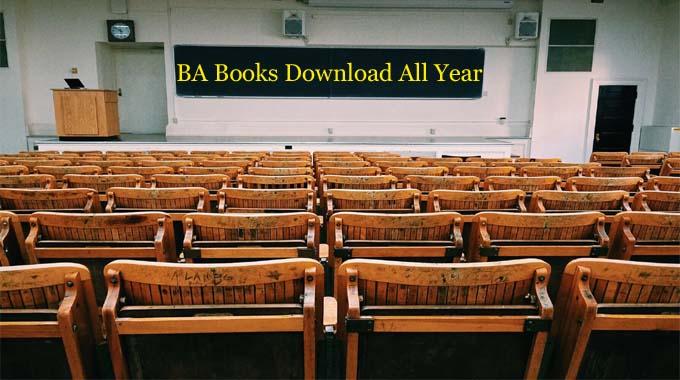 BA Books in PDF Download