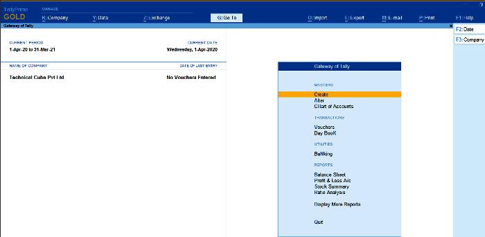 tally interface new