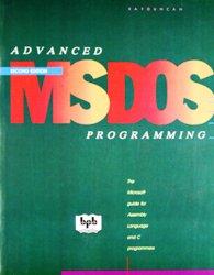 Advanced MS DOS Programming book