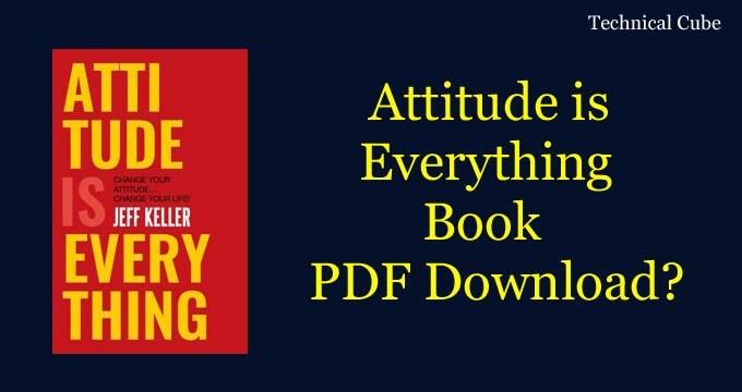 Attitude is Everything Hindi Book Pdf