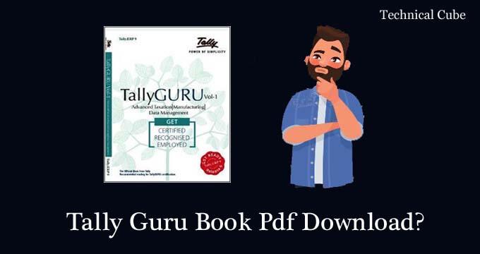 Tally Guru Book Pdf Download