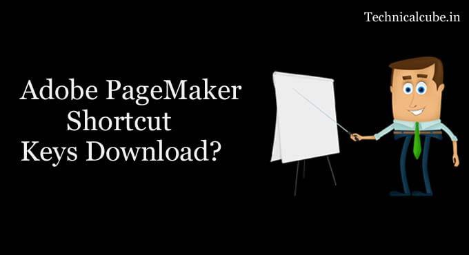 PageMaker Shortcut Keys Pdf Download