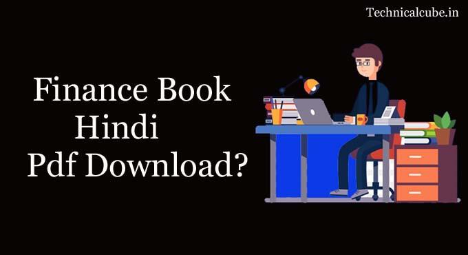 Finance Book in Hindi Pdf Download