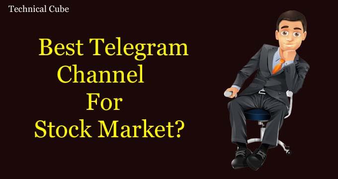 Telegram Channel For Stock Market