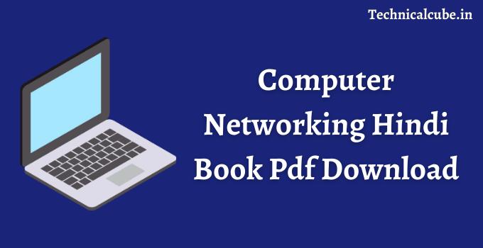 Computer Networking Hindi Book Pdf Download